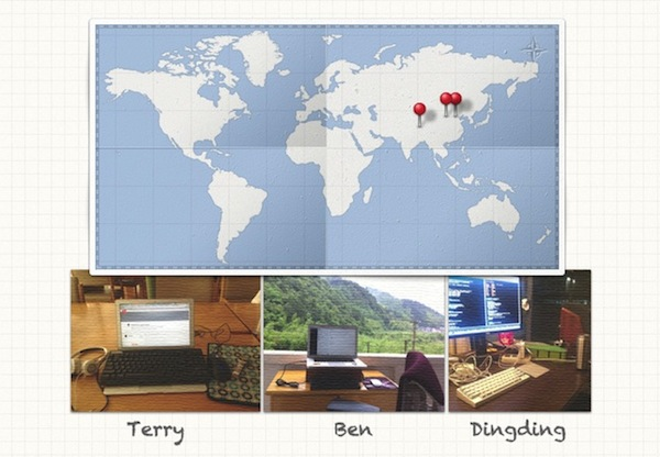 Remote Work WorldMap